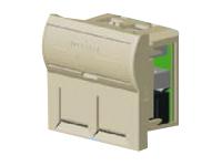 N462.200 LANmark-5 Розеточный модуль (Outlet) 45x45, неэкранир., двойной, со шторками Nexans N462.200