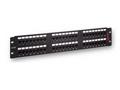 """Premium Line 175124812 Патч-панель 19"""" UTP 48xRJ45 кат.5е, Dual Type IDC, цвет черный 175124812"""