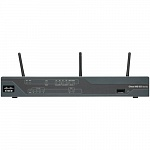[C881W-E-K9] Маршрутизатор Cisco 881 Eth Sec Router with 802.11n ETSI Compliant