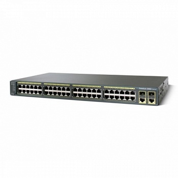 Catalyst 2960-XR 48 GigE PoE 370W, 4 x 1G SFP, IP Lite