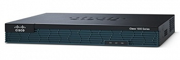 Маршрутизатор CISCO1921-SEC/K9 Cisco 1921/K9 with 2GE, SEC License PAK, 512MB DRAM, 256MB