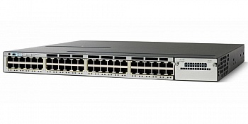 Коммутатор Cisco WS-C3750X-48T-S Catalyst 3750X 48 Port Data IP Base