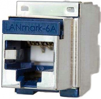 LANmark-6A Evo Snap-In Connector Category 6A 500MHz Screened Nexans