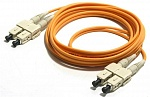 [N123.2CCO5] LANmark-OF Соединительный шнур (Patch Cord) MM 50/125, 2SC-2SC, 5m, LSZH Nexans