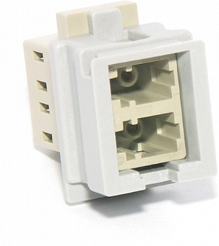 LANmark-OF Адаптер (Snap-in Adaptor) MM LC Duplex Nexans
