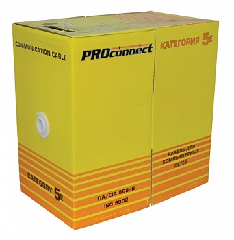 Кабель витая пара PROconnect FTP 4PR 24AWG, CAT5e