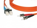 [N123.2TTO2 ] LANmark-OF Соединительный шнур (Patch Cord) MM 50/125, 2ST-2ST, 2m, LSZH Nexans